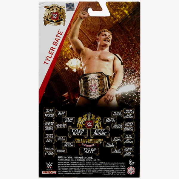 Tyler Bate UK Champion WWE Elite Collection