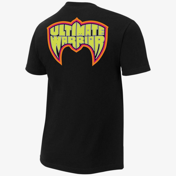 Ultimate Warrior - Parts Unknown - Mens Retro WWE T-Shirt