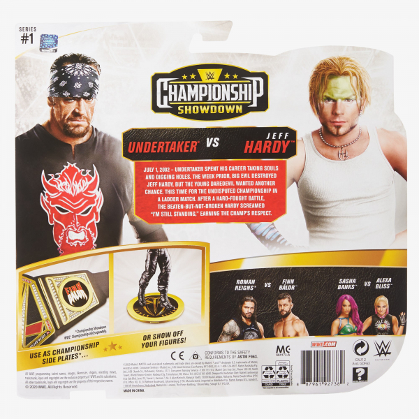 Undertaker & Jeff Hardy - WWE Championship Showdown 2-Pack Series #1