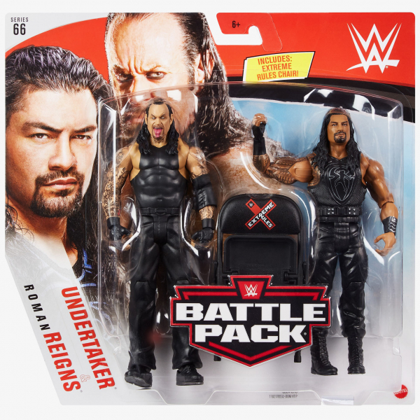 Undertaker & Roman Reigns - WWE Battle Pack Series #66