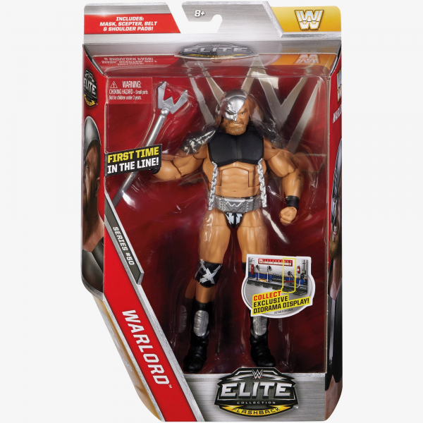 Warlord Wwe Elite Collection Series 50