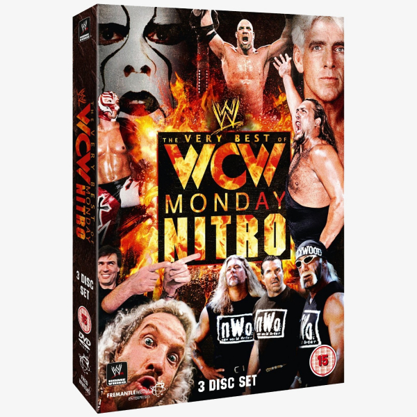 WWE The Very Best of WCW Monday Nitro DVD