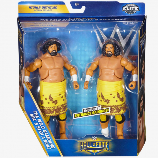 Wild Samoans WWE Hall of Fame Elite Collection Series (2-Pack)
