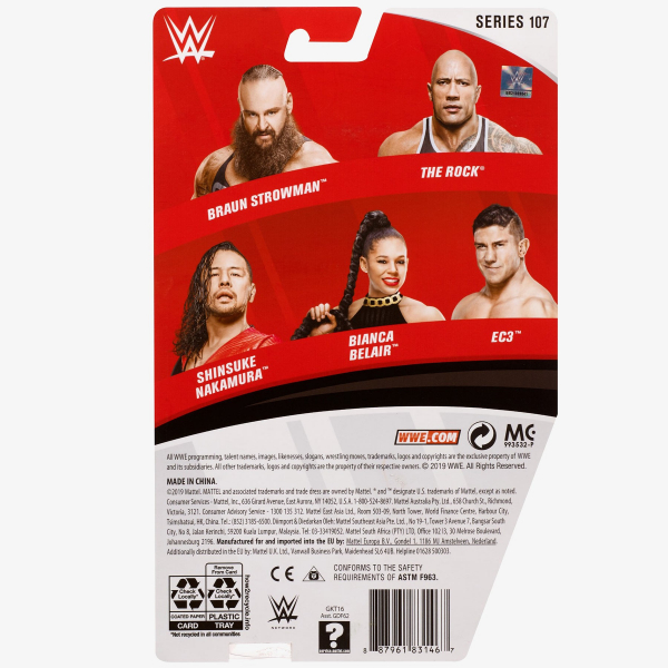 Braun Strowman - WWE Basic Series #107