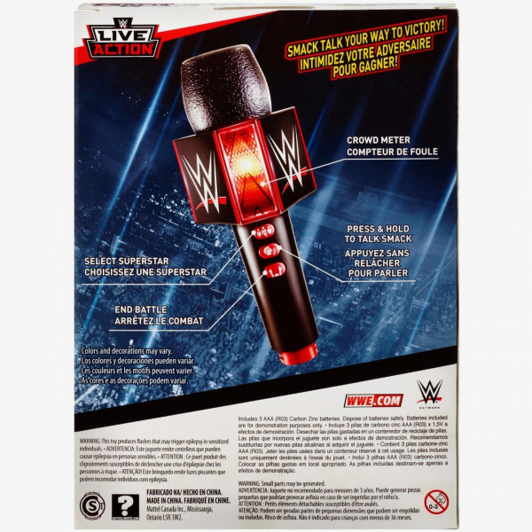 WWE Promo Battle Microphone