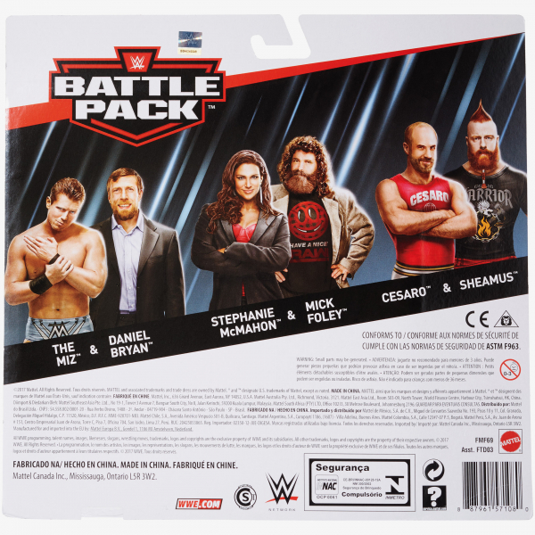 Daniel Bryan & The Miz - WWE Battle Pack Series #49