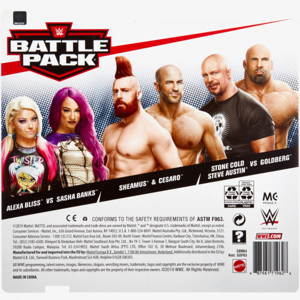 Alexa Bliss & Sasha Banks - WWE Battle Pack Series #60