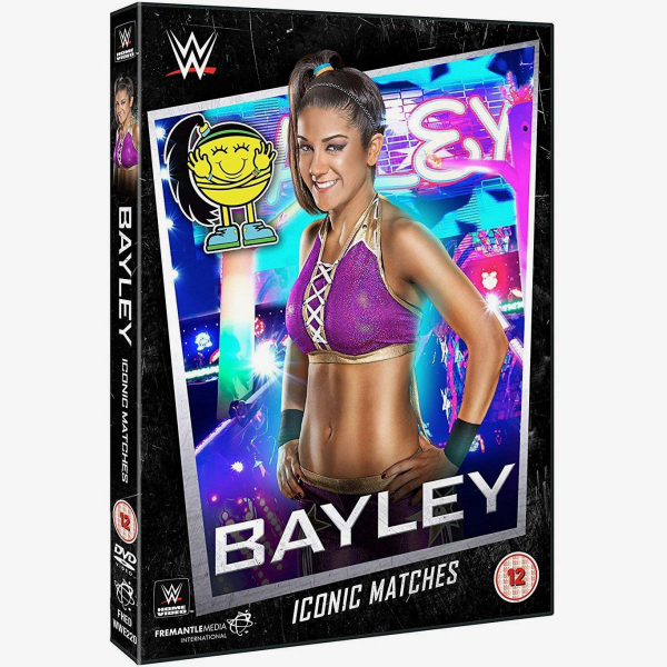 WWE Bayley Iconic Matches DVD