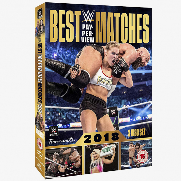 WWE Best Pay-Per-View Matches 2018 DVD