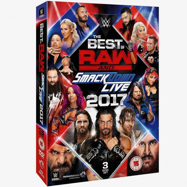 WWE The Best of Raw and SmackDown 2017 DVD