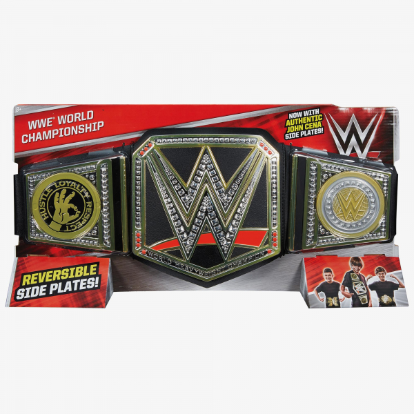 WWE World Championship (With John Cena Sideplates)