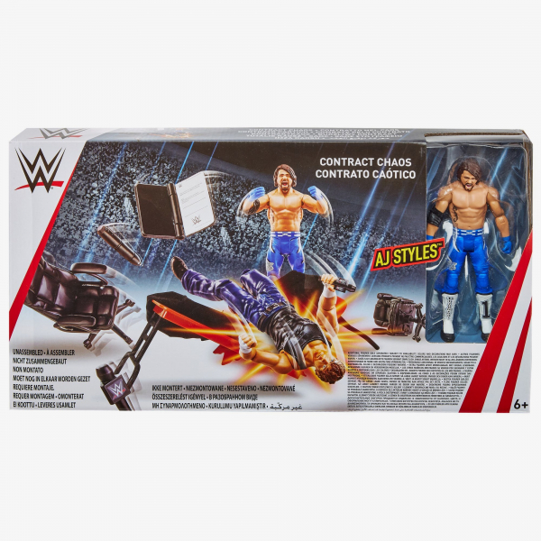 WWE Contract Chaos Playset (with AJ Styles Figure)