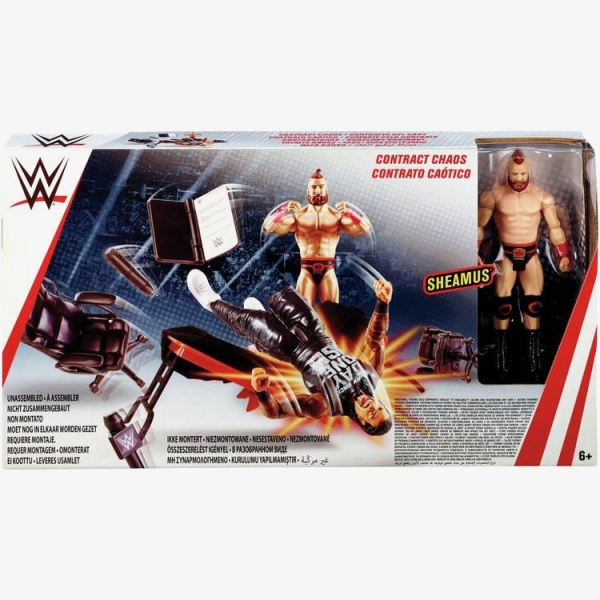 WWE Contract Chaos Playset (with Sheamus Figure)