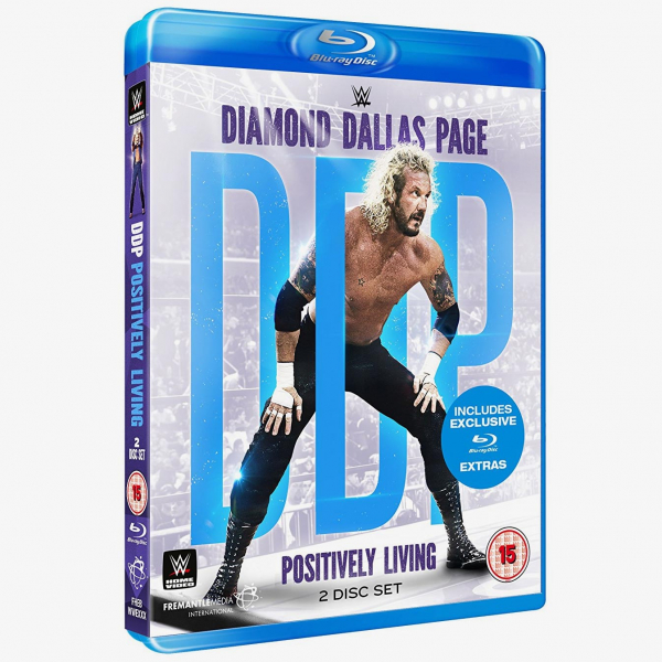 Diamond Dallas Page - Positively Living Blu-ray