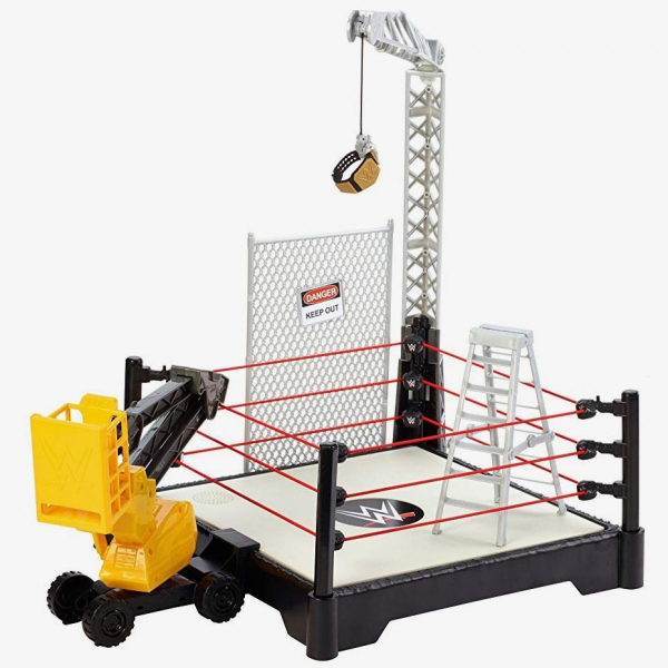 WWE Destruction Zone Ring Playset