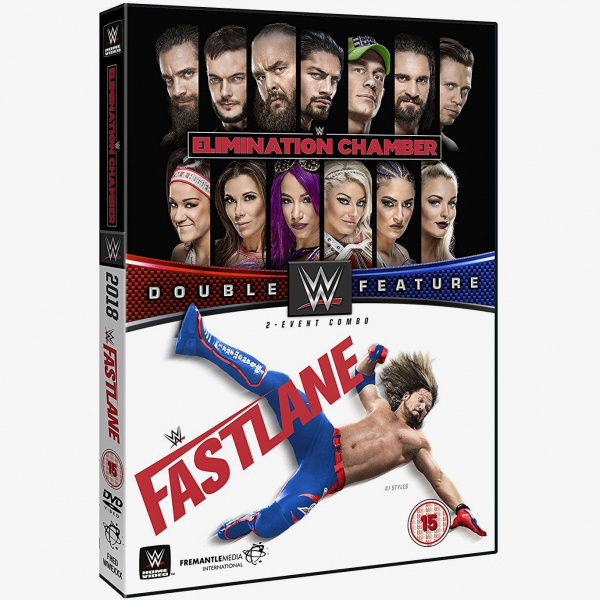WWE Elimination Chamber 2018 & Fastlane 2018 Double Feature DVD