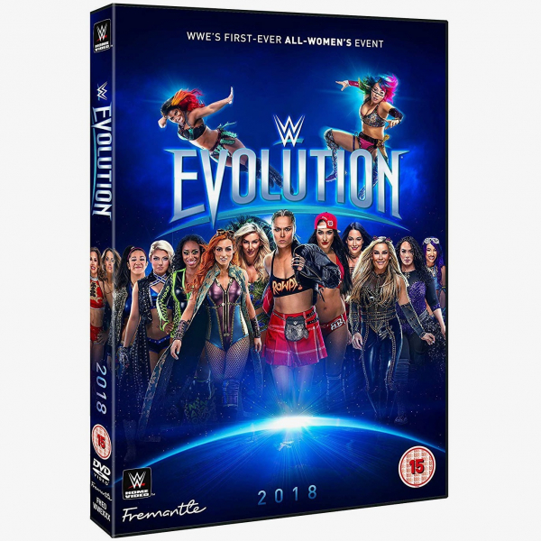 WWE Evolution 2018 DVD
