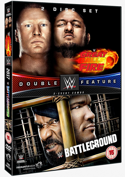 WWE Great Balls of Fire & Battleground 2017 DVD