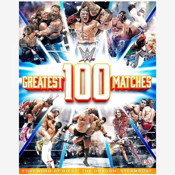 WWE 100 Greatest Matches Book