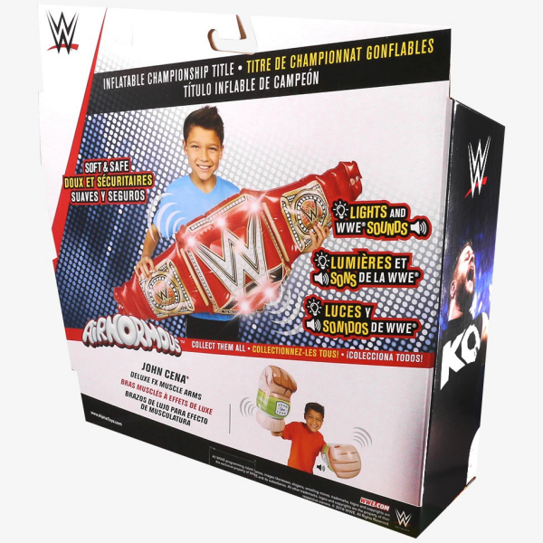 WWE Deluxe FX Inflatable Universal Championship Belt