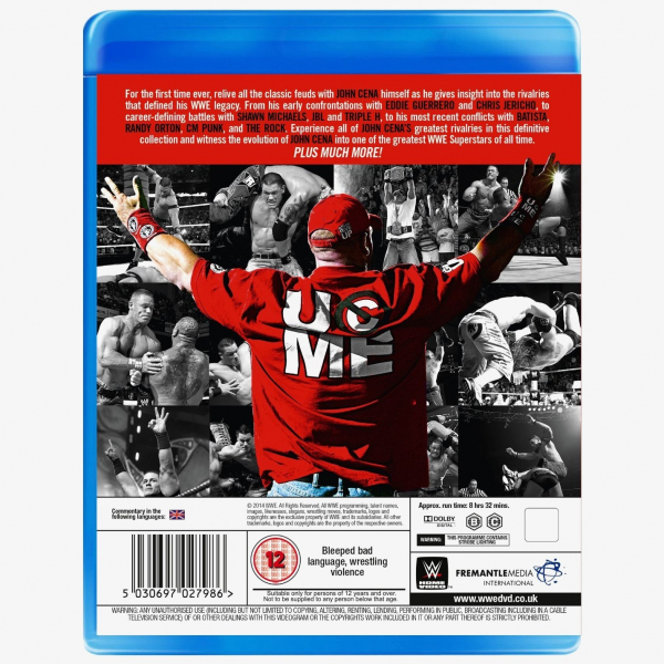 WWE John Cena's Greatest Rivalries Blu-ray