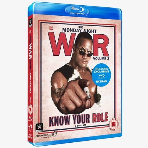WWE Monday Night War -  Know Your Role: Volume 2 Blu-ray