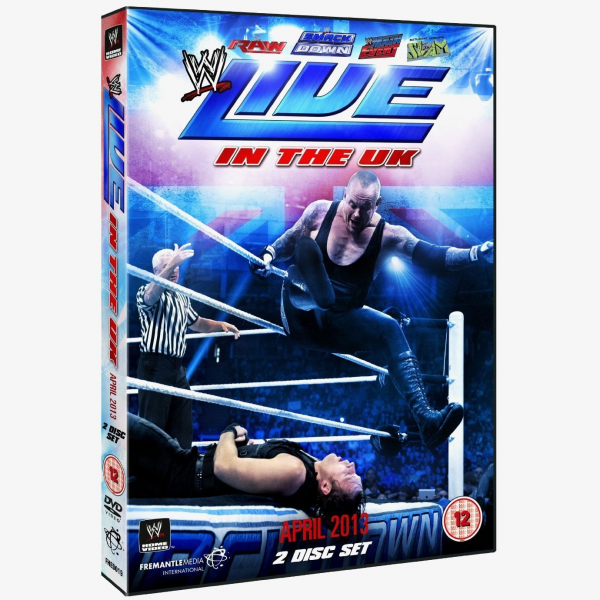 WWE Live In The UK - April 2013 DVD