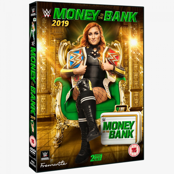 WWE Money in the Bank 2019 DVD