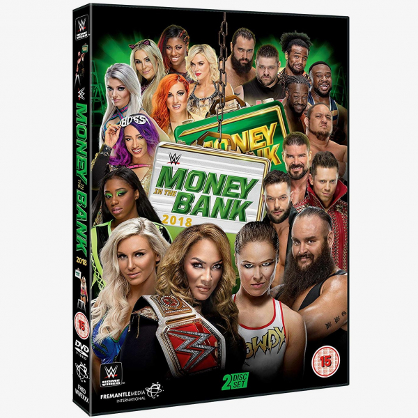 WWE Money in the Bank 2018 DVD
