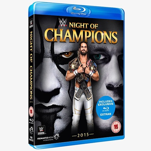 WWE Night of Champions 2015 Blu-ray