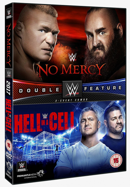 WWE No Mercy & Hell in a Cell 2017 DVD