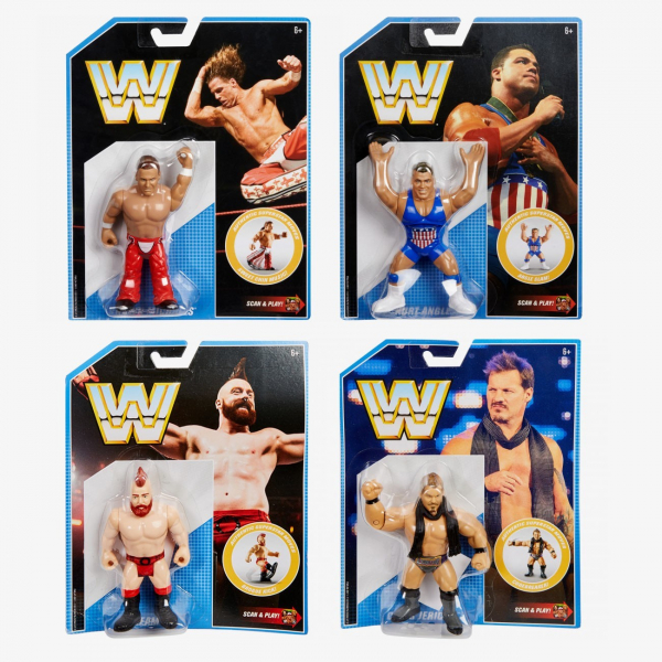 WWE Retro Series 7 - Complete Set - Figures