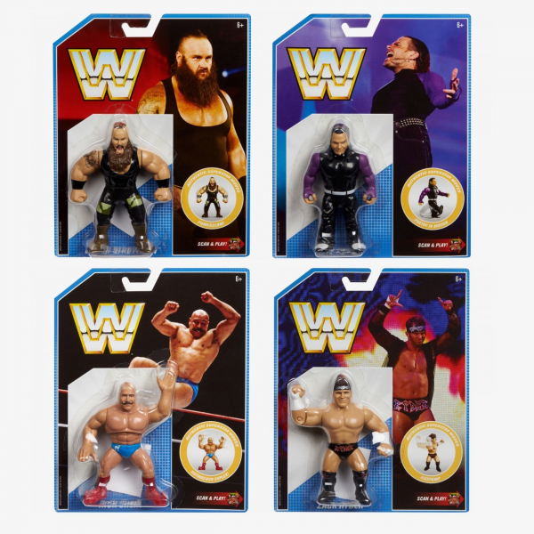 WWE Retro App Series #8 - Complete Set of 4