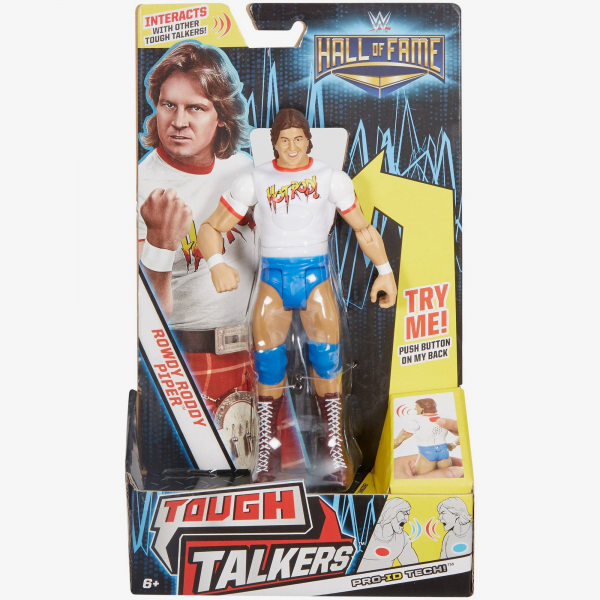 Rowdy Roddy Piper WWE Tough Talkers Exclusive
