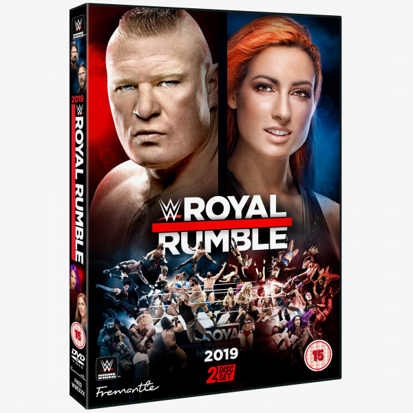 WWE Royal Rumble 2019 DVD