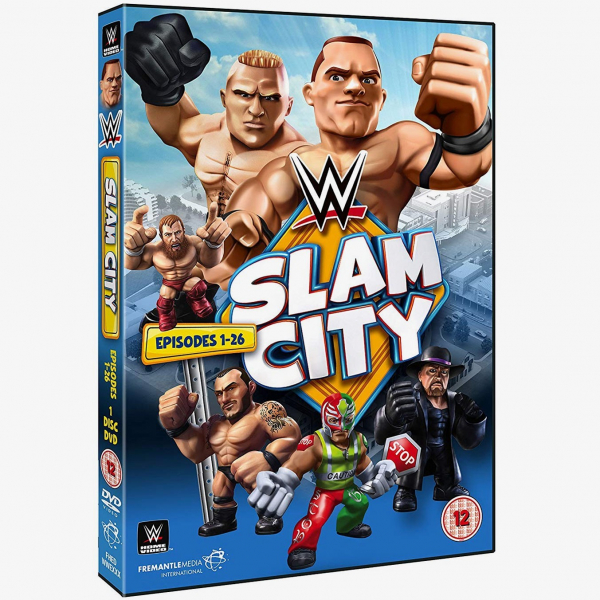 WWE Slam City - Episodes 1-26 DVD