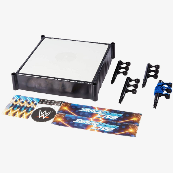 WWE SmackDown Ring Playset (14 inch)