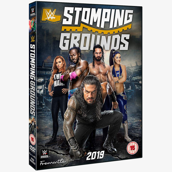 WWE Stomping Grounds 2019 DVD