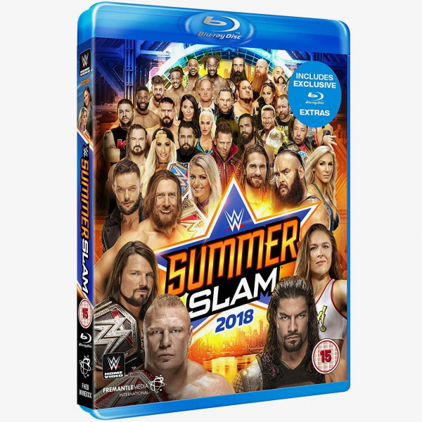 WWE SummerSlam 2018 Blu-ray