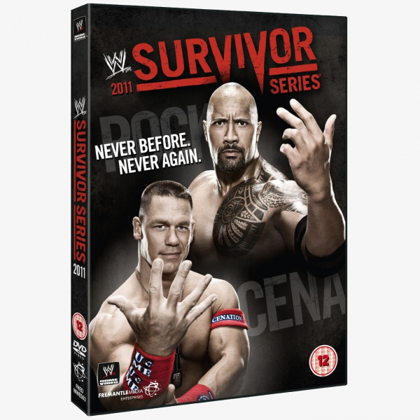 WWE Survivor Series 2011 DVD