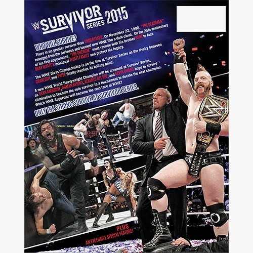 WWE Survivor Series 2015 DVD