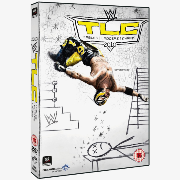 WWE TLC: Tables, Ladders & Chairs 2010 DVD