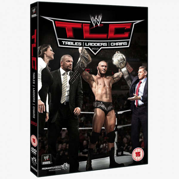 WWE TLC: Tables, Ladders & Chairs 2013 DVD