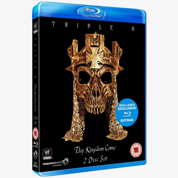 WWE Triple H - Thy Kingdom Come Blu-ray