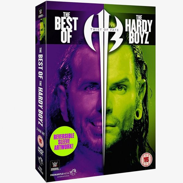 WWE Twist of Fate - The Best of the Hardy Boyz DVD