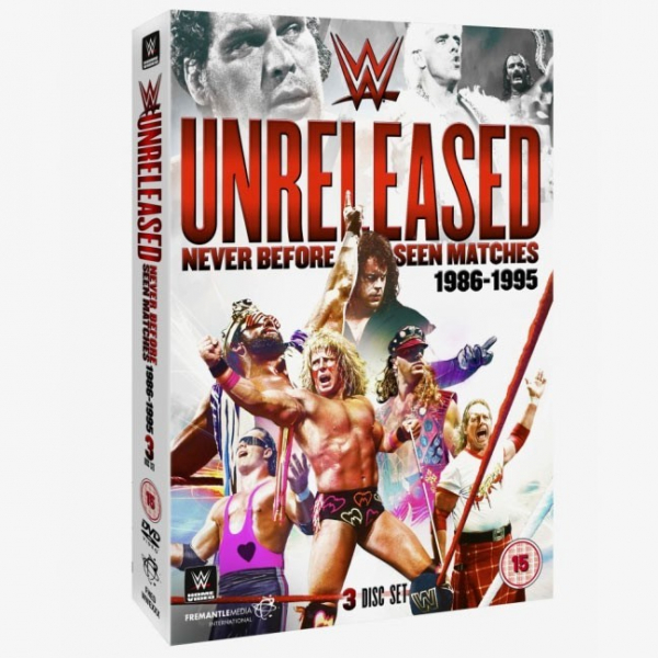 WWE Unreleased Matches 1986-1995 DVD