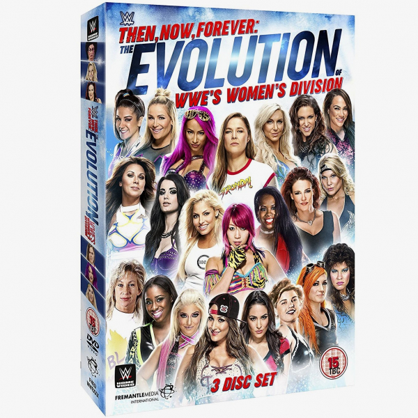 WWE Then Now Forever: The Evolution of WWE's Women's Division DVD