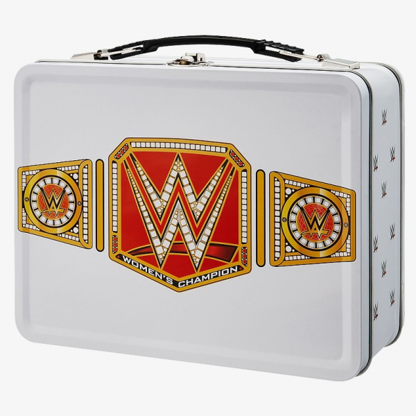 WWE Women's Championship Tin Lunch Box