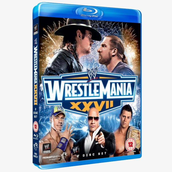 WWE WrestleMania 27 Blu-ray