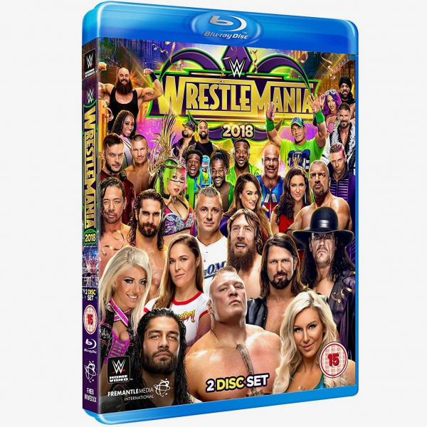 WWE WrestleMania 34 Blu-ray